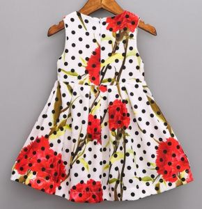 Fashion DOT Frock in Chidlren Dress with Baby Clothes pictures & photos
