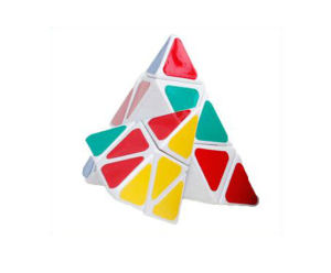 Popular OEM Design Triangle Magic Cube pictures & photos