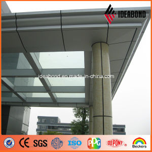 Yalid Special Series Marble Texture Pillar Aluminum Facade Panel pictures & photos