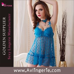 New Arrival Sexy Babydoll Lingerie (KLB1-055)