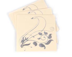 Custom Paper Napkins for Luncheon