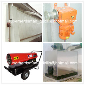 Full Set Automatic Poultry Equipment for Broiler Production Farm pictures & photos