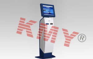 Touch Screen Self-Service Pacel Delivery Kiosk with Payment pictures & photos