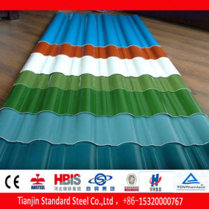 Cold Rolled Color Coated Corrugated Roofing Sheet pictures & photos