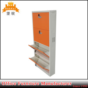 Wholesale Metal Home Furniture Customized Four Layers Steel Shoe Racks pictures & photos