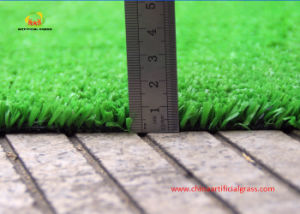Economical Leisure Center Artificial Grass with Fibrillated Yarn pictures & photos