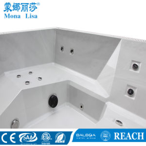 Compact-Style Acrylic Outdoor Big SPA Tub for 6 Person (M-3384) pictures & photos