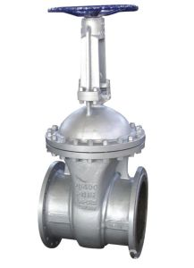 API 600 Cast Steel A216 Gr. Wcb Flanged Raised Face Gate Valve pictures & photos