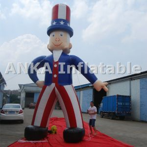 Giant 3D Model Inflatable Cartoon Rooftop Goat pictures & photos