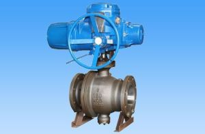Forged Steel Electric Reduced Bore Ball Valve