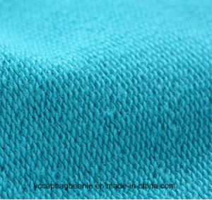 Cool Printing 100 Cotton Long Sleeve Blue Tshirt pictures & photos