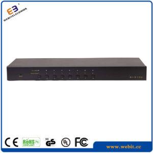 Remote Control 8 Port Cat5e Kvm Switch pictures & photos