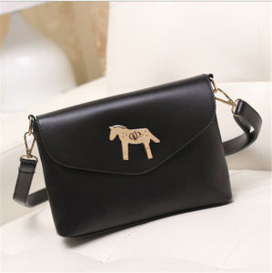 Fashion Style Lovely Horse Design Leather Woman Brand Handbag Organizer pictures & photos