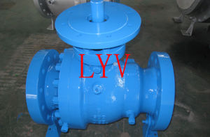 Casted Top Entry Stainless Steel Ball Valve