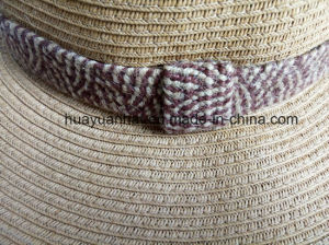 90% Paper 10% Polyester with Brown Color Leisure Style Safari Hats pictures & photos