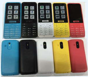 Small Dual SIM Dual Standby Cheap Old Man Mobile Phone Cheap GSM Phone: 220# pictures & photos
