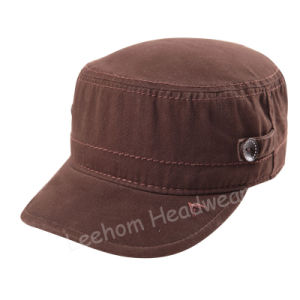 Wholesale Fashion Washed Leisure Military Army Cap pictures & photos