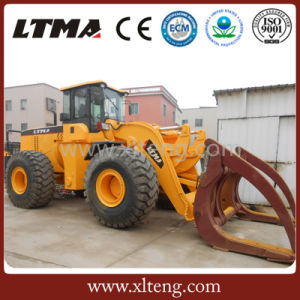Ltma Sugarcane Loader 12 Ton Log Loader pictures & photos