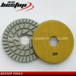 D180mm 7 Inch Diamond Floor Polishing Pad for Concrete pictures & photos