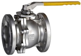 Class 150 Flanged Stainless Steel Floating Ball Valve