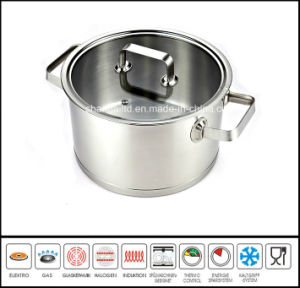 Stainless Steel Casserole Soup Pot pictures & photos