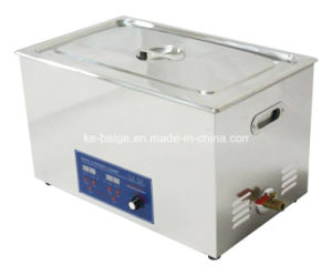 30L 600W Digital Ultrasonic Bench-Top Cleaner Ultrasound Cleaner Power Adjustable pictures & photos