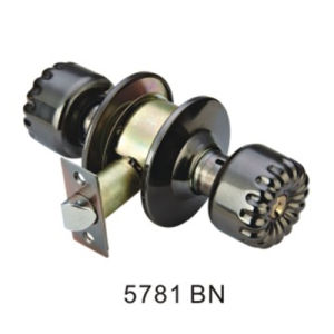 Classical Style Good Quality Cylindrical Knob Lock (5781 BN) pictures & photos