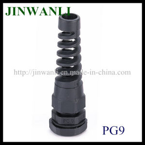 Pg/M Type (With Strain Relief) Plastic Waterproof Spiral Cable Gland pictures & photos