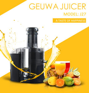 75mm Opening Chute 450W Kitchen Electric Fruit Juicer (J27) pictures & photos