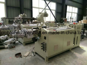 HDPE Double Pipes Making Machine