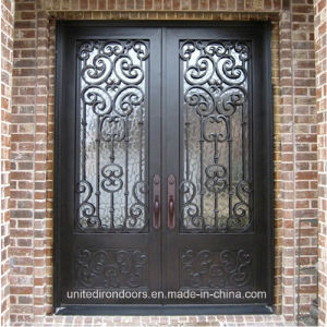 Security and Decorative Wrought Iron Door (UID-D066) pictures & photos