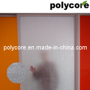Waterproof Fire-Retardant Light Transmission Sandwich Door pictures & photos