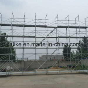 Hot DIP Galvanized Japanese Ringlock Scaffolding
