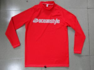 Lycra Long Sleeve Shirt Rash Guard pictures & photos