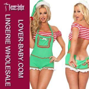 Enticing Elf Costume Santa Claus Fancy Dress (L70905) pictures & photos