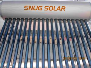 CE Approved Stainless Steel Compact Solar Water Heater pictures & photos