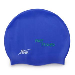 Super Flexible Printed Silicone Swim Caps, Swimming Caps pictures & photos
