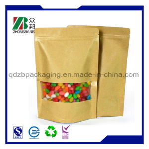 Food Grade Sugar Packaging Kraft Paper Bag pictures & photos