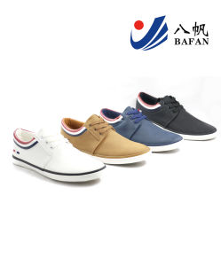 Men′s Fashion Canvas Flat Casual Shoes (BFM0403) pictures & photos
