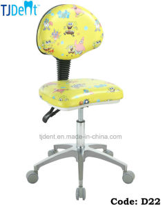 Children Dental Chair Dentist Chair Doctor Stool (D22) pictures & photos