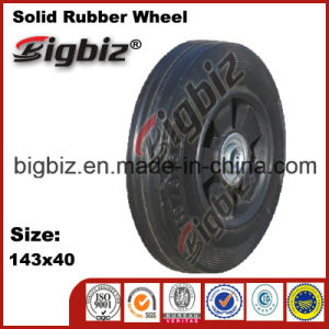 5.00-6 Wheel Barrow Solid Rubber Wheel Chocks for Truck pictures & photos