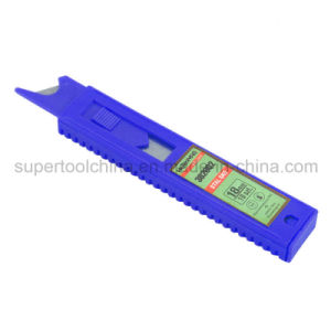 Self-Loading Utility Knife Blade with Pushing Switch (382002) pictures & photos