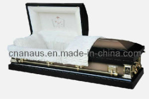 Us Style 18 Ga Steel Casket (18H1056) pictures & photos