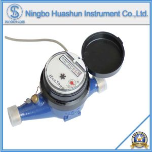AMR Multi Jet Dry Type Brass Water Meter with Pulse Output Function pictures & photos