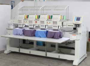 Industrial Embroidery Machine with 4 Heads and 9/12 Needles pictures & photos