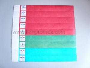 Custom Printing Colorful Tyvek Bracelet pictures & photos