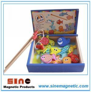 Wooden Educational Toys/Magnetic Fishing Toy pictures & photos