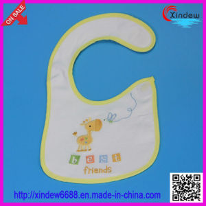 Baby′s Cotton Bib 2 Layer of 100% Cotton pictures & photos