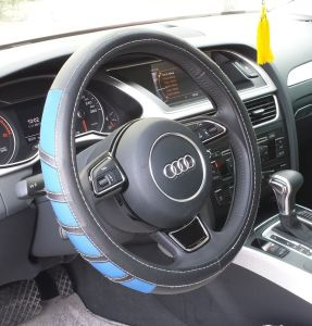 Bt 7252 The Production of Wholesale Leather Imitation Leather Steering Wheel Covers pictures & photos