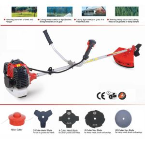 42.7cc Bc415-5 Gas Powered Brush Cutter Grass Cutter Trimmer pictures & photos